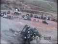 Rollover at Potato Salad Hill in Moab