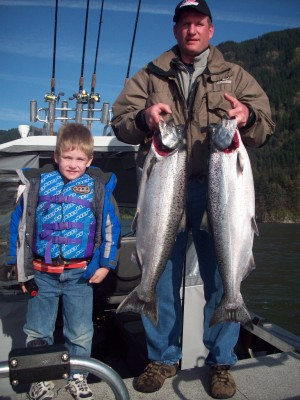 Skipper Eli & Dads Turn