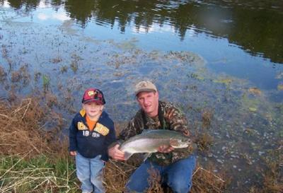 Eli's First Trout