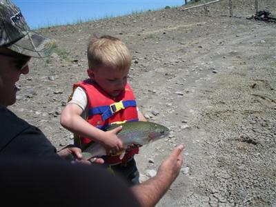 Adam's Son With An Early Catch
