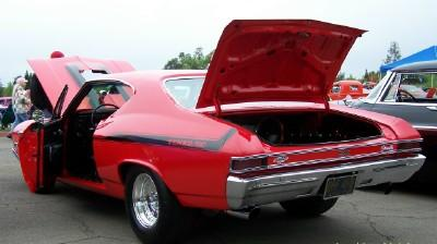 Chevelle on Display