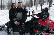 I was all ready to go by 9am. My husband got home around 10:30am. The group was scheduled to meet up at the local snowmobile shop by 12 noon. My husbands boss, Matt, held up the trip by arriving 2 hours late. We were all […]