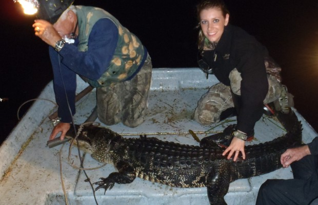 Loaded the airboat, got my muzzy gator rig on my bow, earmuffs, bug spray, I'm ready! I have never been on an airboat before so that was an adventure in itself. I couldn't hide my excitement, especially while we were cruising right over the top […]